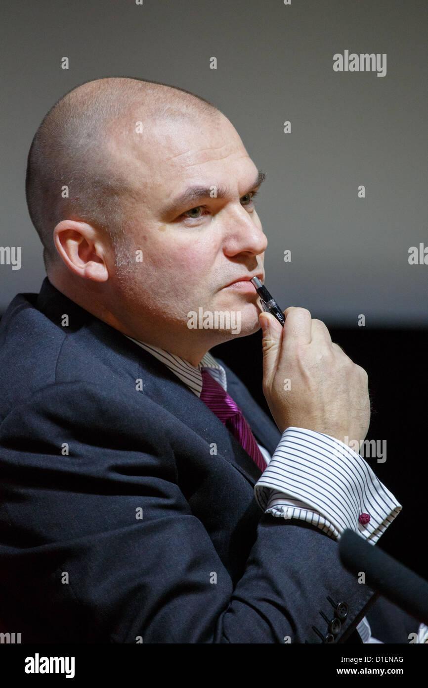 Dr Tuomas Forsberg è il Professore di relazioni internazionali all'Università di Tampere. Immagini Stock