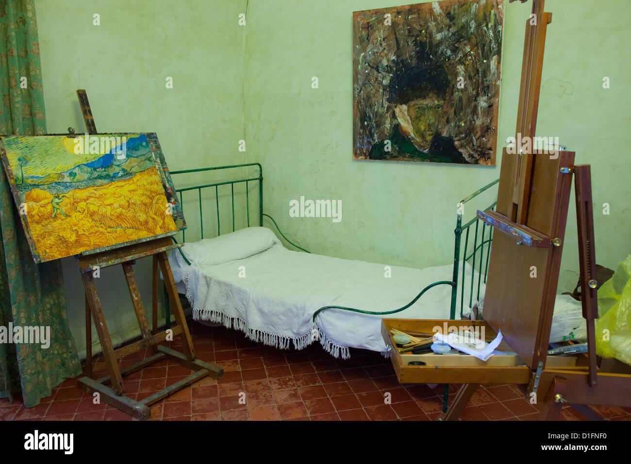 Vincent Van Gogh la camera da letto a Saint Paul de Mausole ...