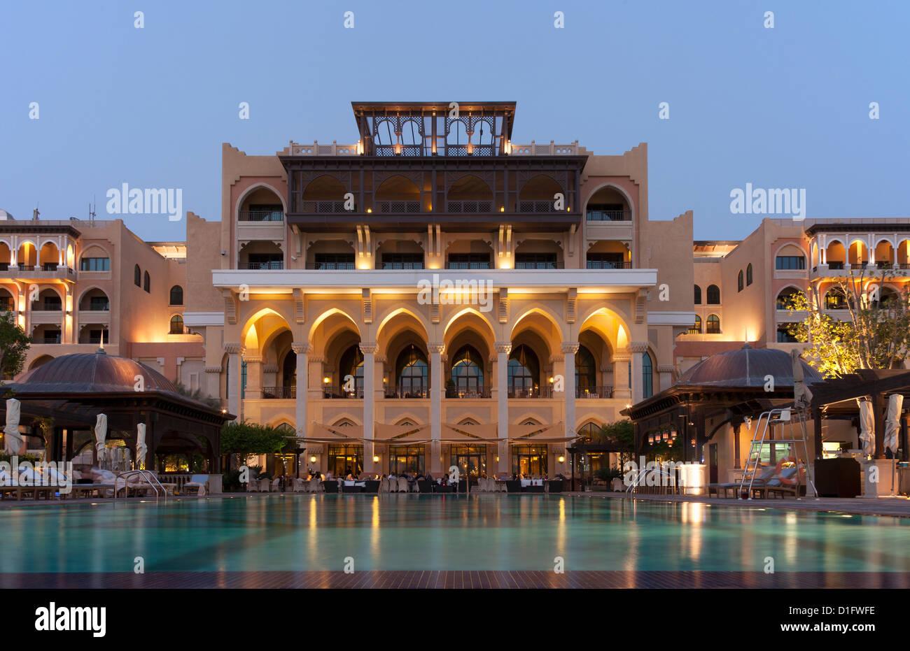 Shangri La Hotel di Abu Dhabi, Emirati Arabi Uniti, Medio Oriente Immagini Stock
