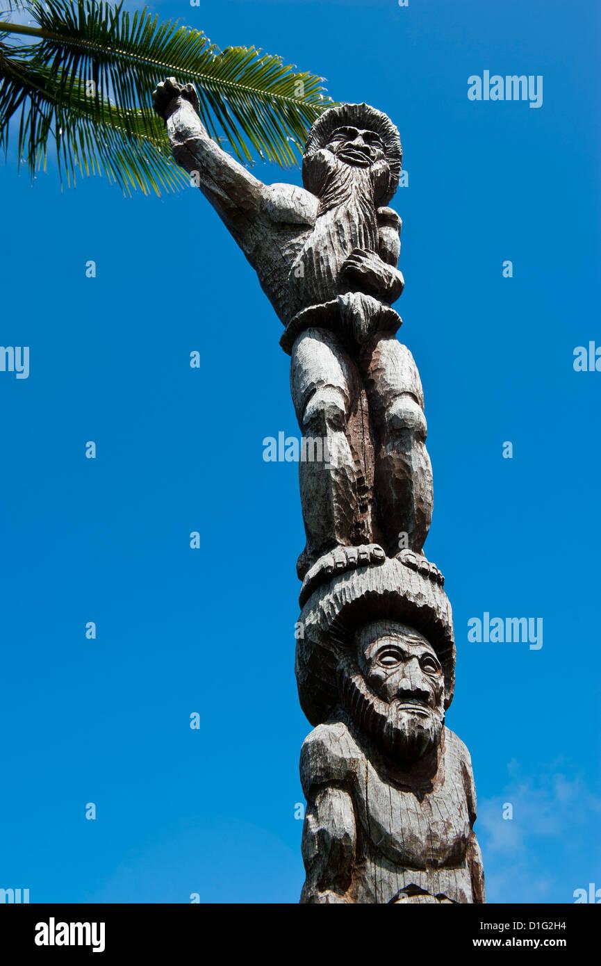 Tjibaou centro culturale a Noumea, Nuova Caledonia, Melanesia, South Pacific Pacific Immagini Stock