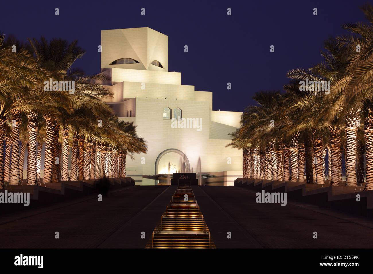 Il Museo di Arte Islamica a Doha, in Qatar Immagini Stock