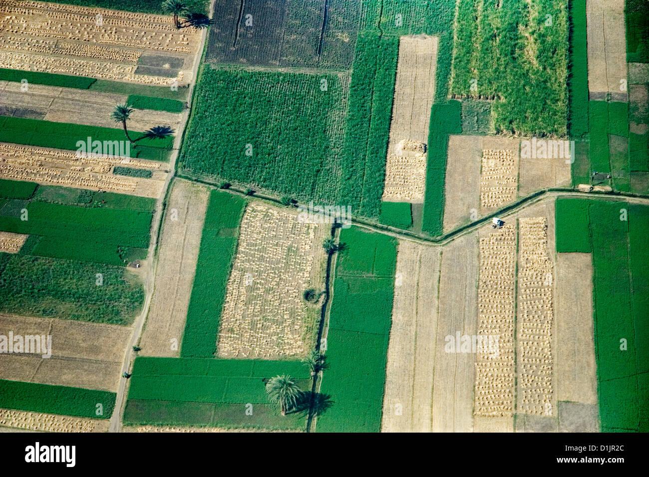 Egitto Luxor west bank valle del Nilo vicino a Gurna Immagini Stock