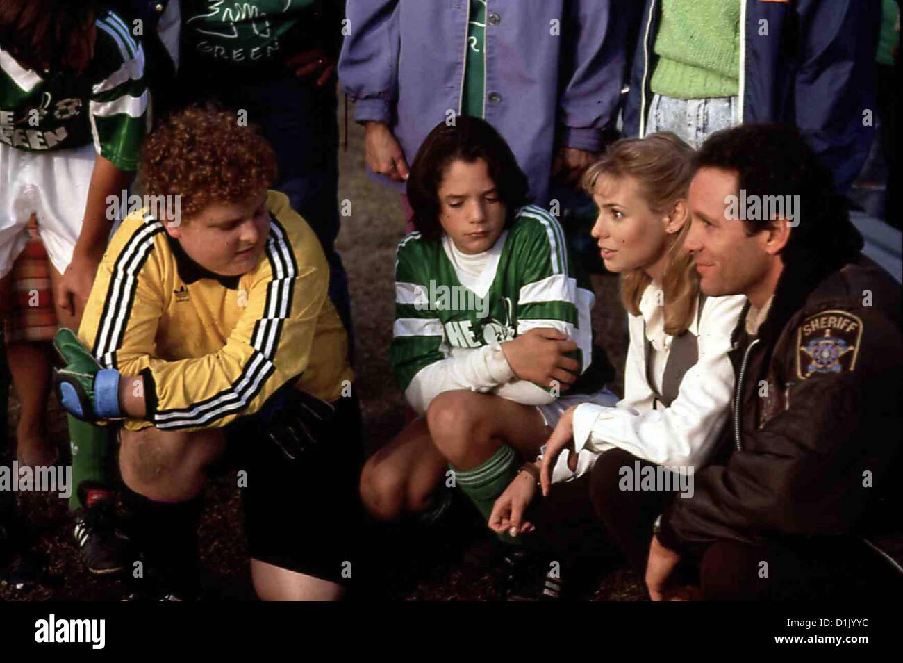 Il grande verde - Ein Unschlagbares Big Team Verde, Patrick Renna, Billy L. Sullivan, Olivia D'ABO, Steve Guttenberg Immagini Stock
