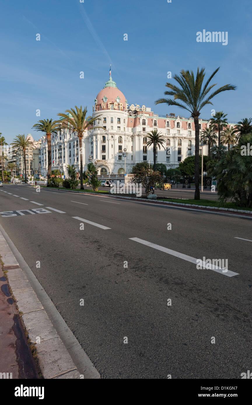 Promenade Des Anglais Immagini Stock