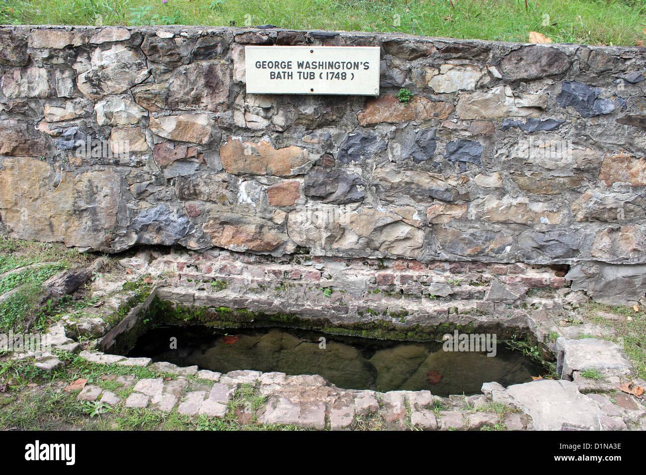Vasca Da Bagno Usato : Berkeley springs spa vasca da bagno come usato da george