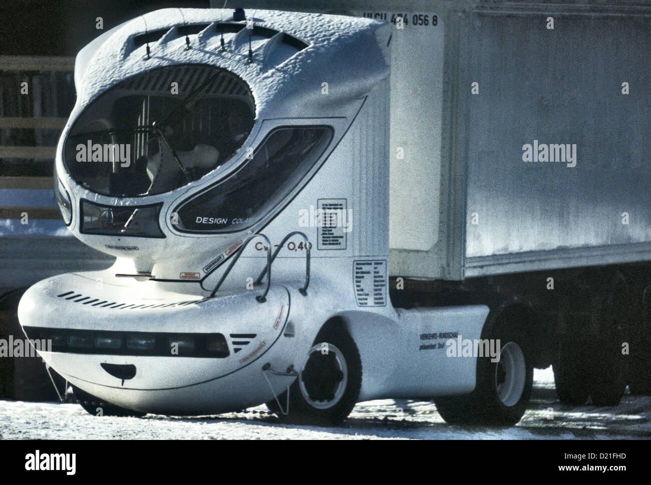 Luigi Colani 2001 Concept carrello 1978 Immagini Stock