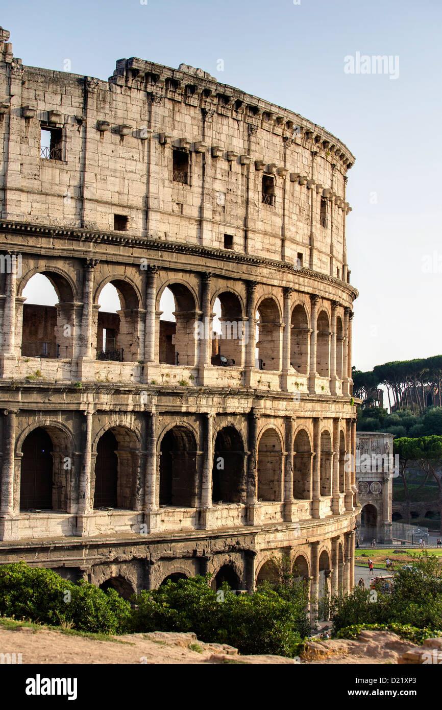 Il Colosseo Roma Italia Immagini Stock
