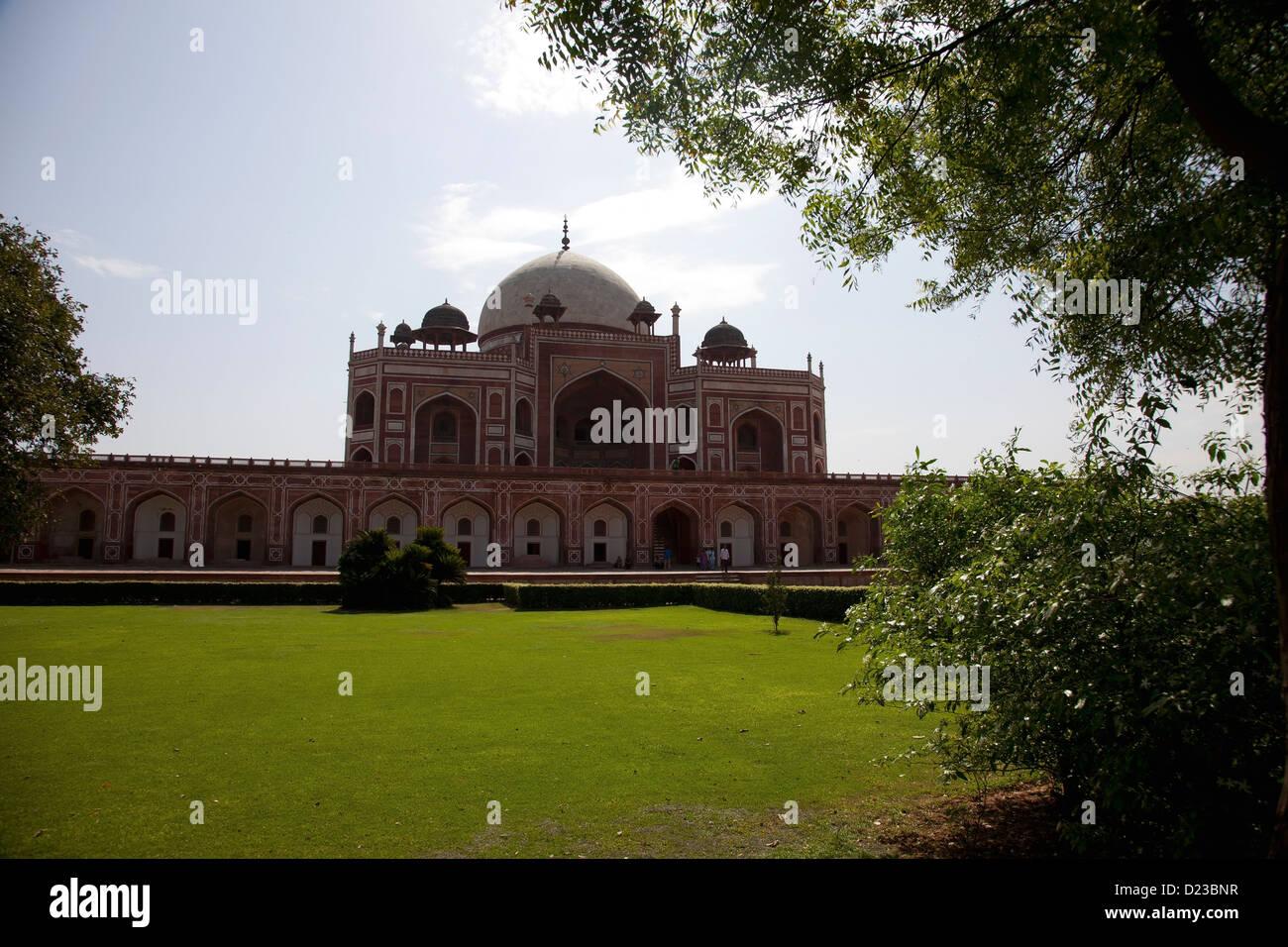 India, Architettura, Delhi, viaggi sfondi, punti di riferimento, percorsi di viaggio, architettura antica, la tomba Immagini Stock