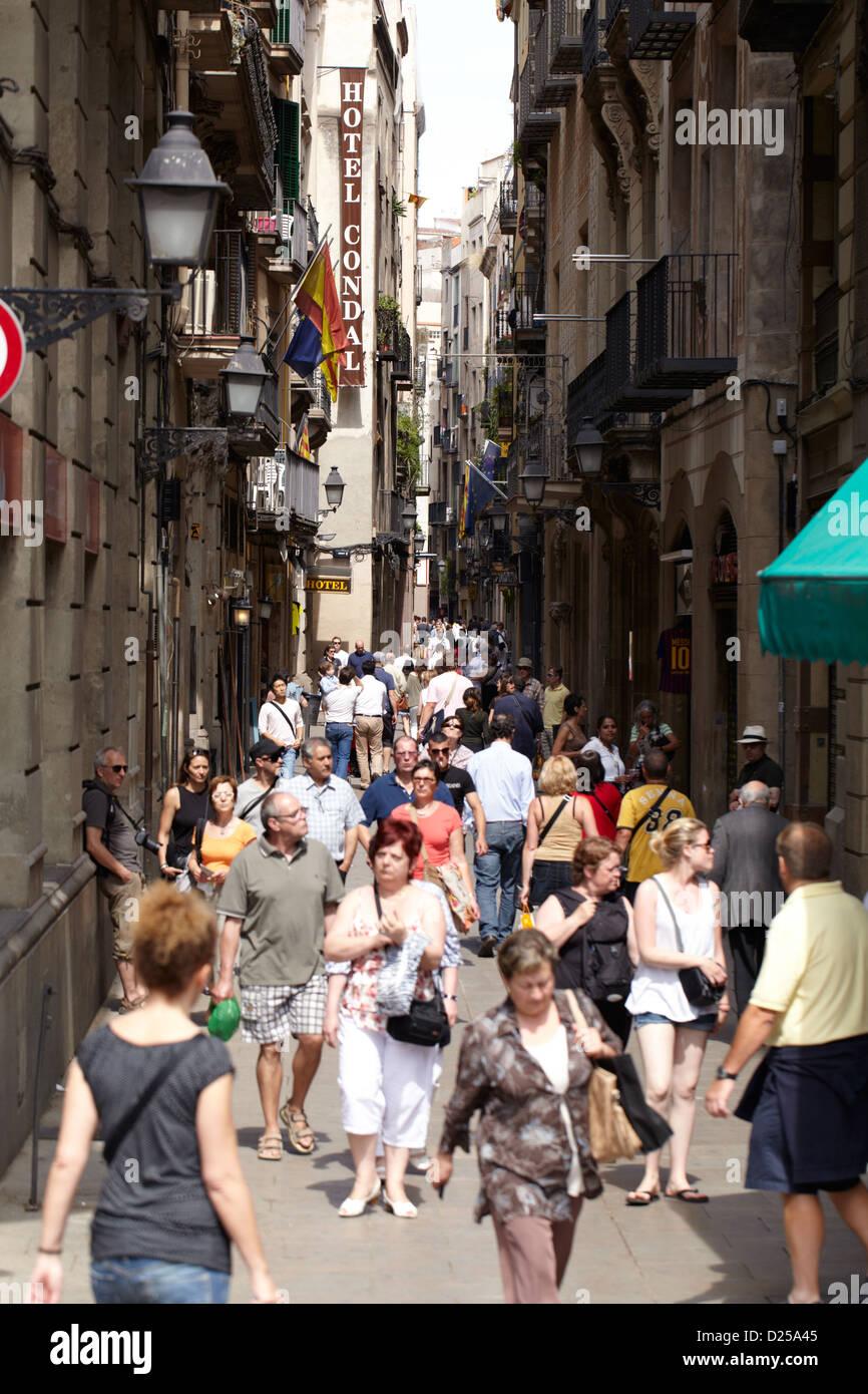 Barcellona, Spagna. Immagini Stock