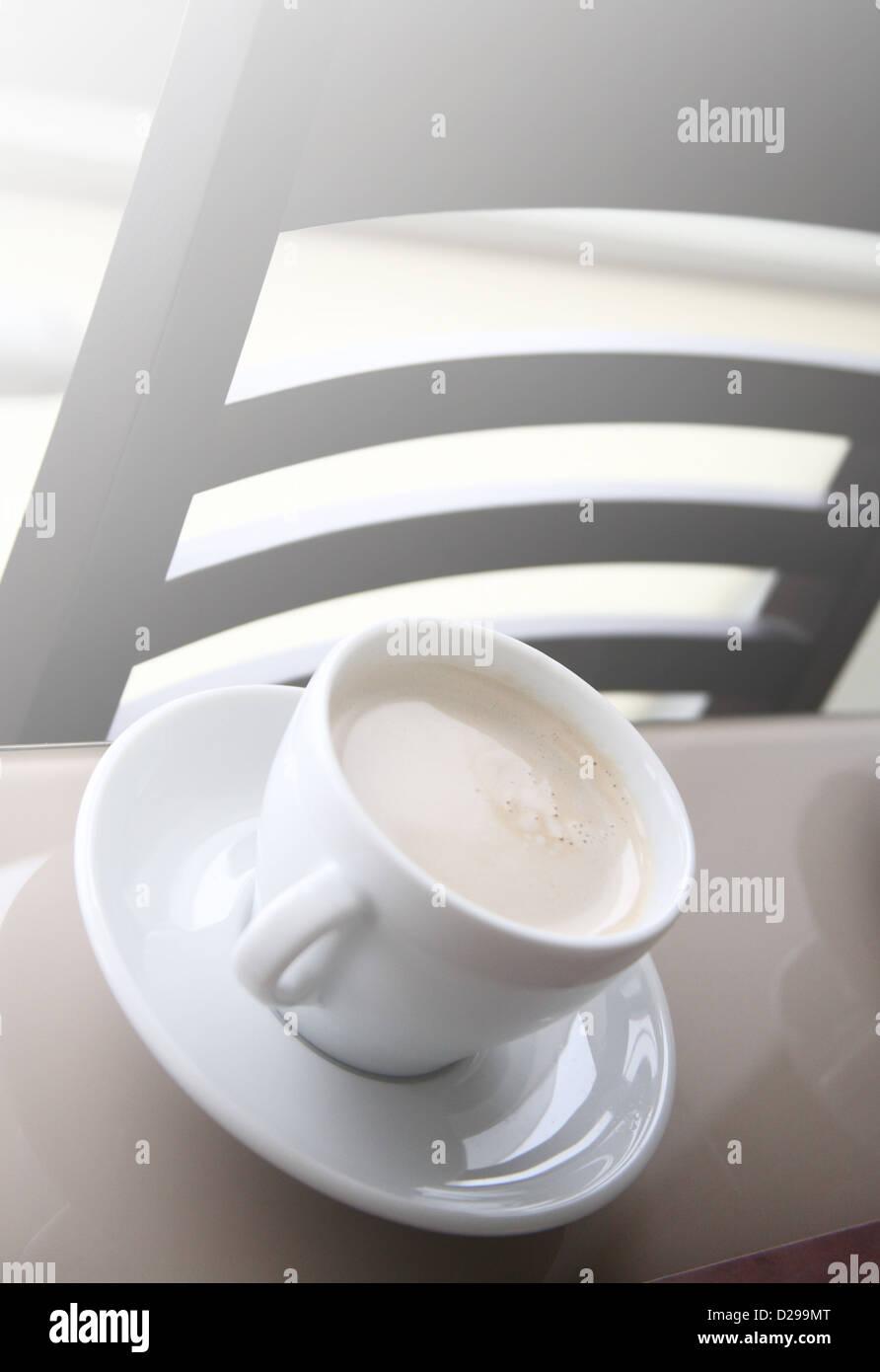 bere caffè Immagini Stock