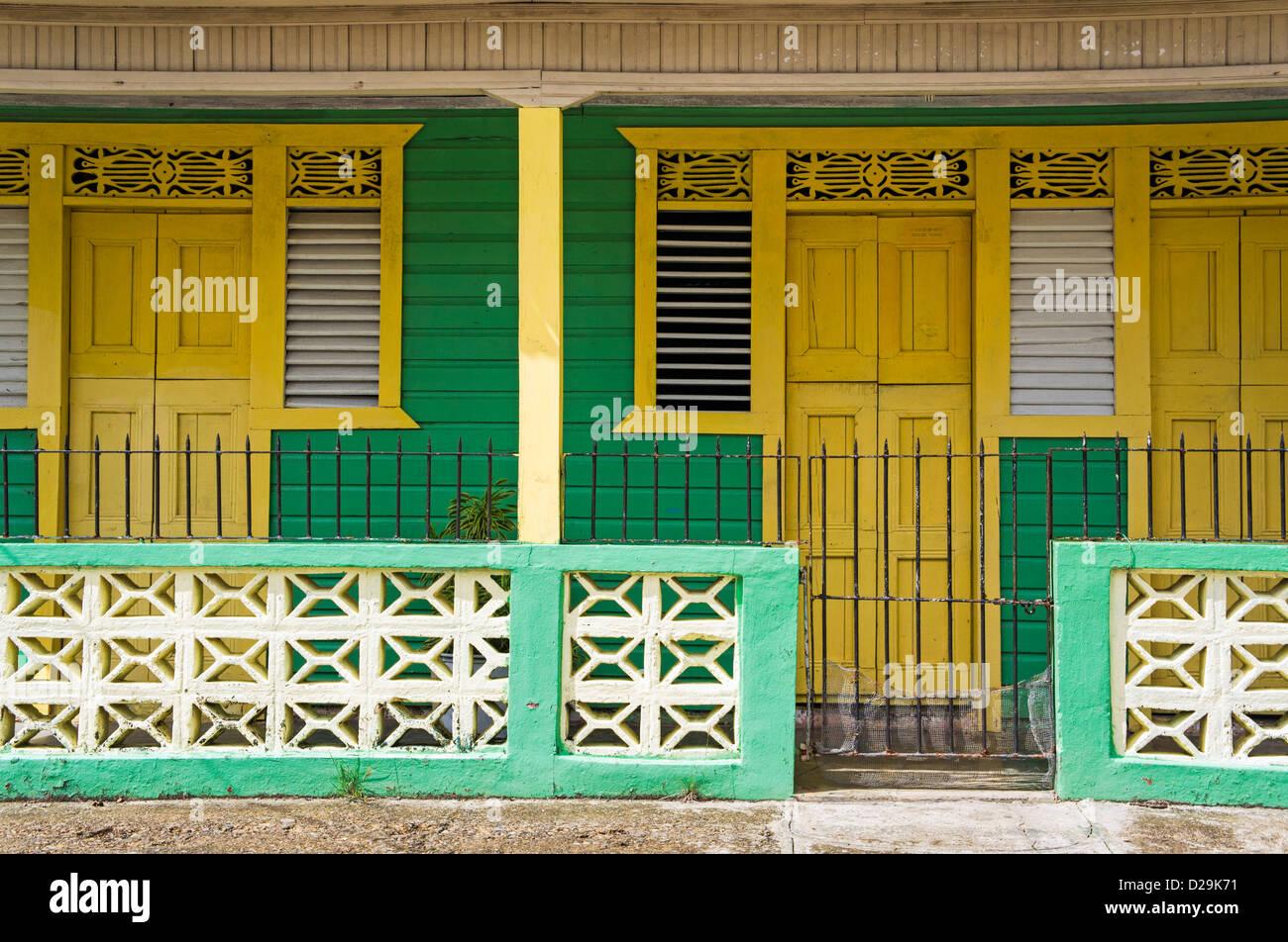 Case in Otra Banda, La Altagracia provincia, Repubblica Dominicana, dei Caraibi Immagini Stock