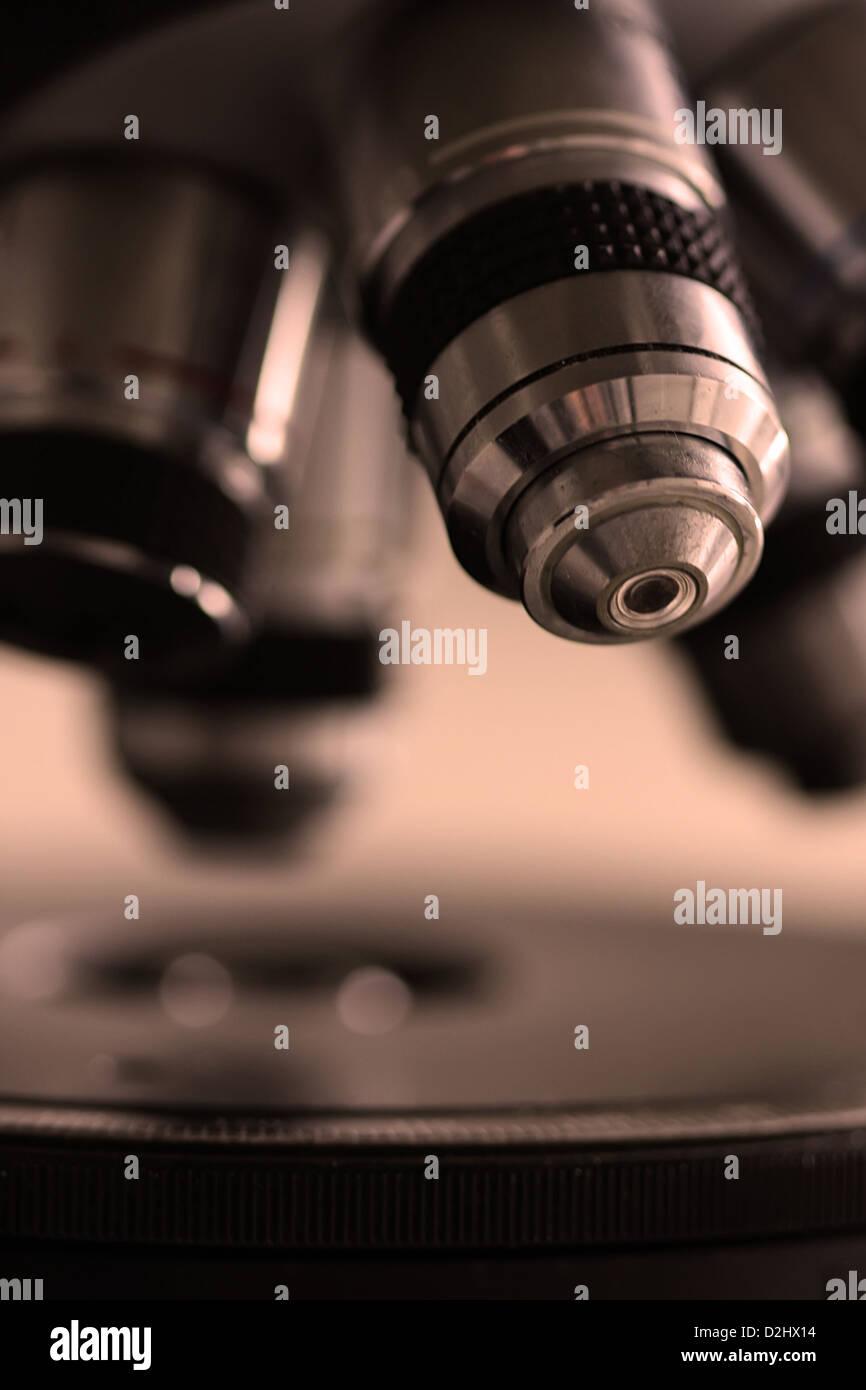 Microscopia Immagini Stock