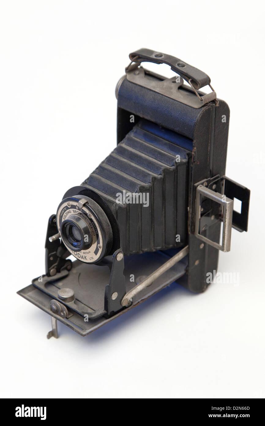 Ancora un ciclo di vita di una fotocamera vintage Immagini Stock