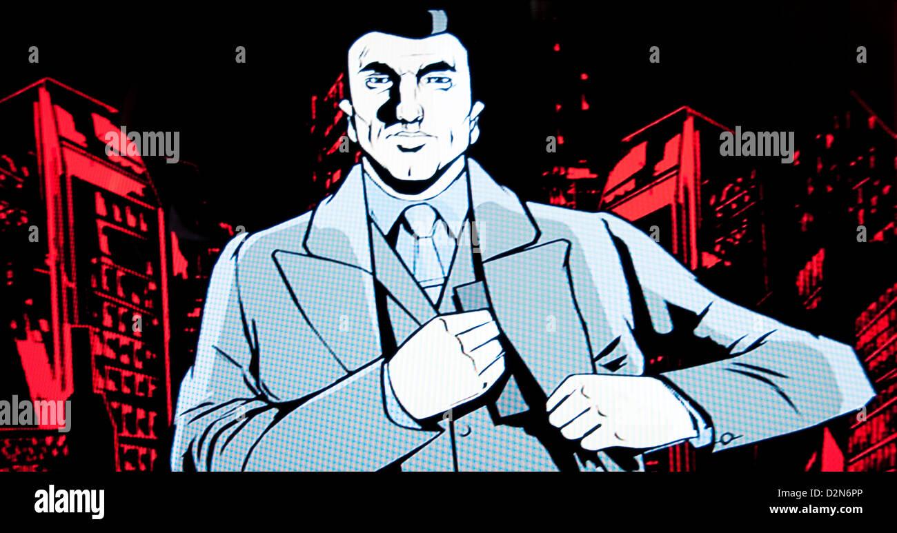 Grand Theft Auto video gioco Immagini Stock