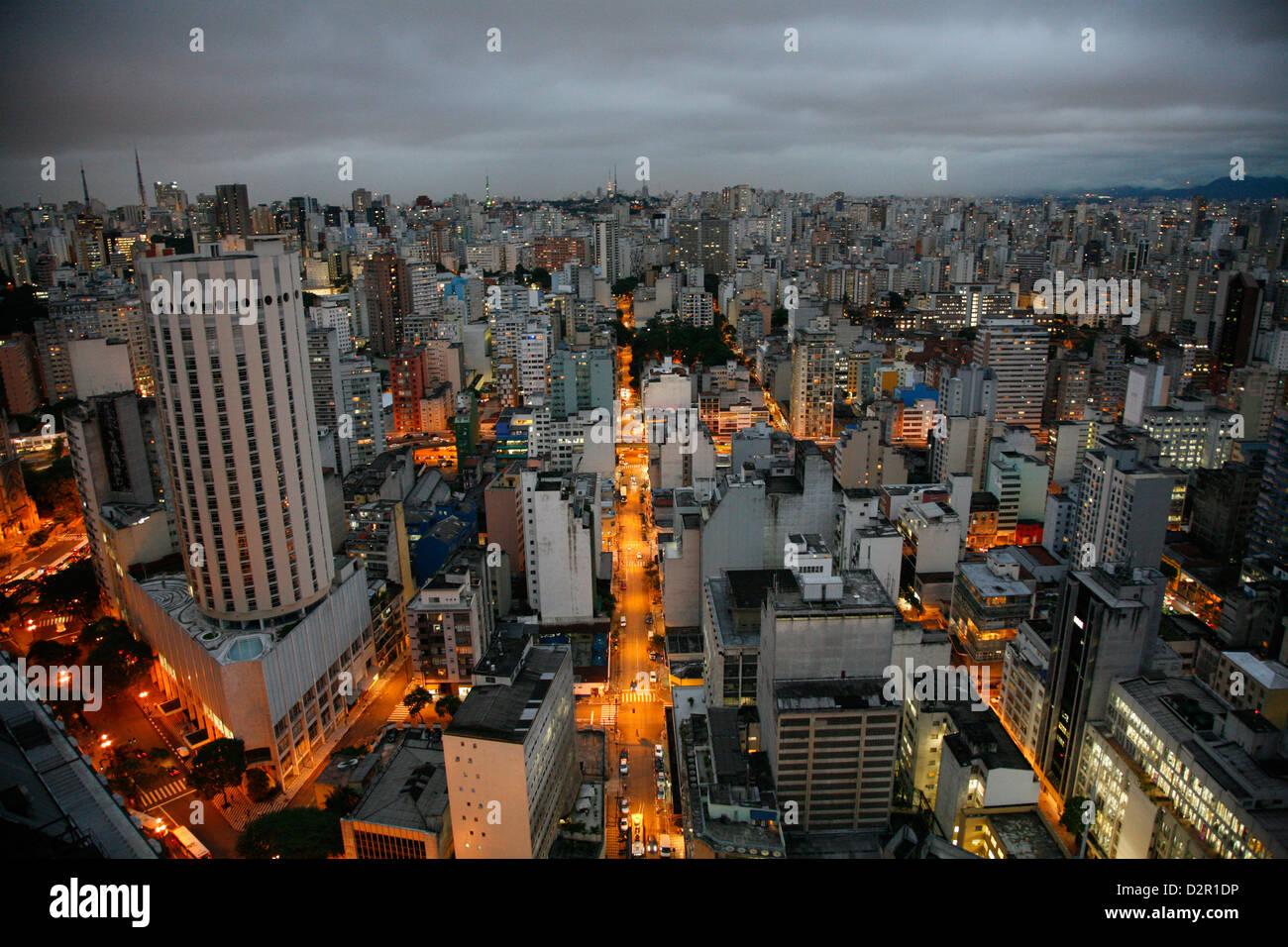 Skyline di Sao Paulo, Brasile, Sud America Immagini Stock