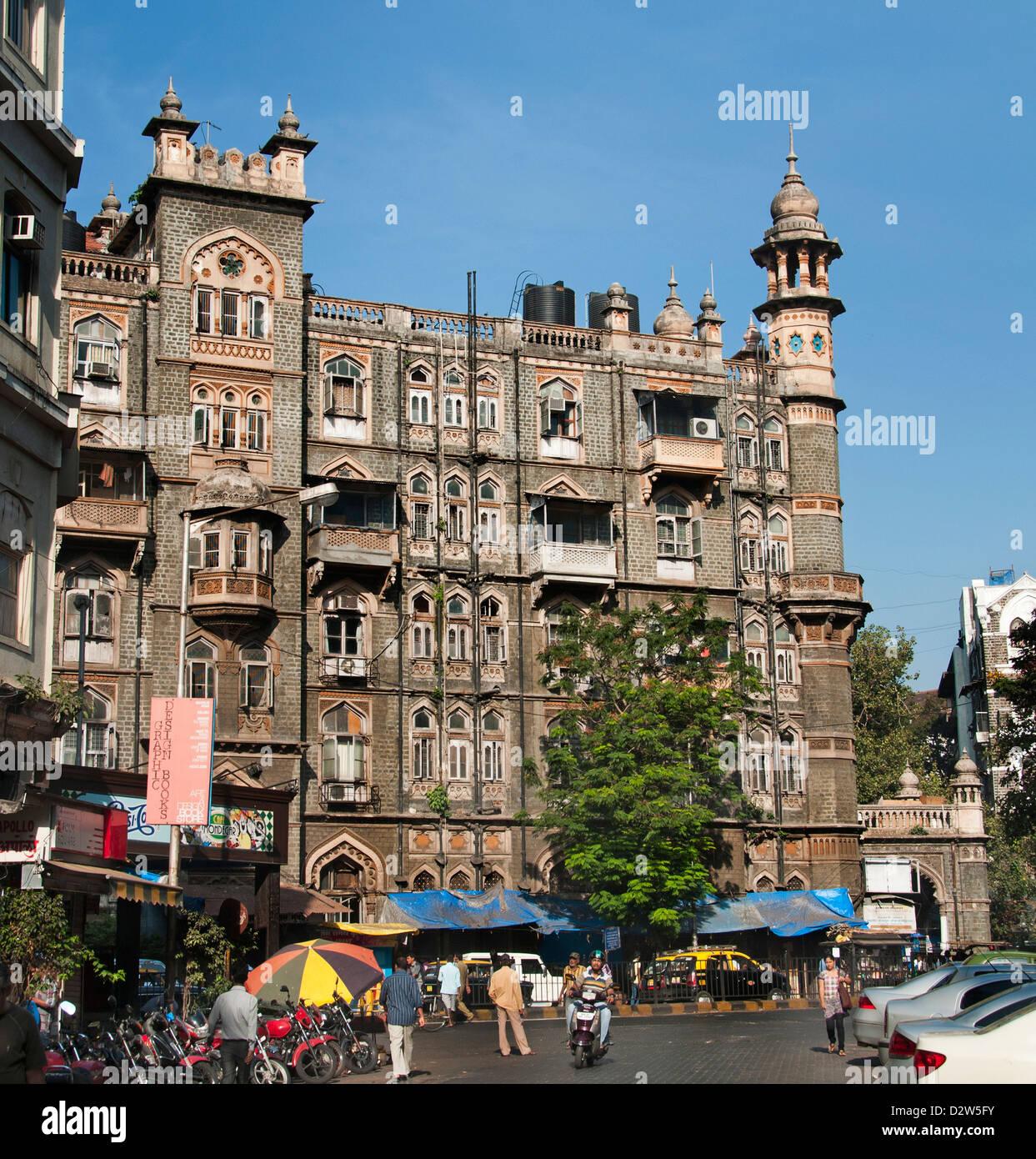 Mumbai Colaba Causeway ( Bombay ) India Immagini Stock