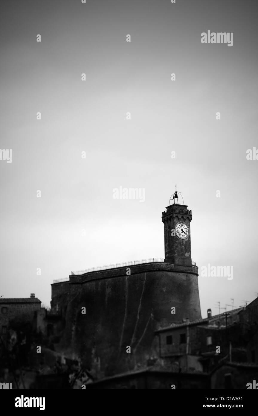 Sorano, Italia Immagini Stock