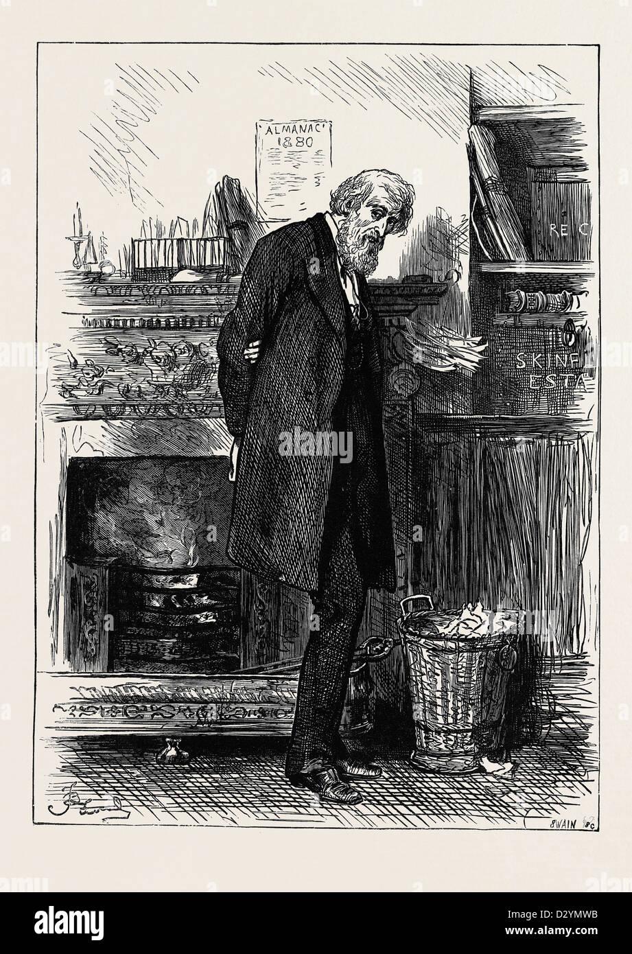 La famiglia SOLICITOR 1880 Immagini Stock
