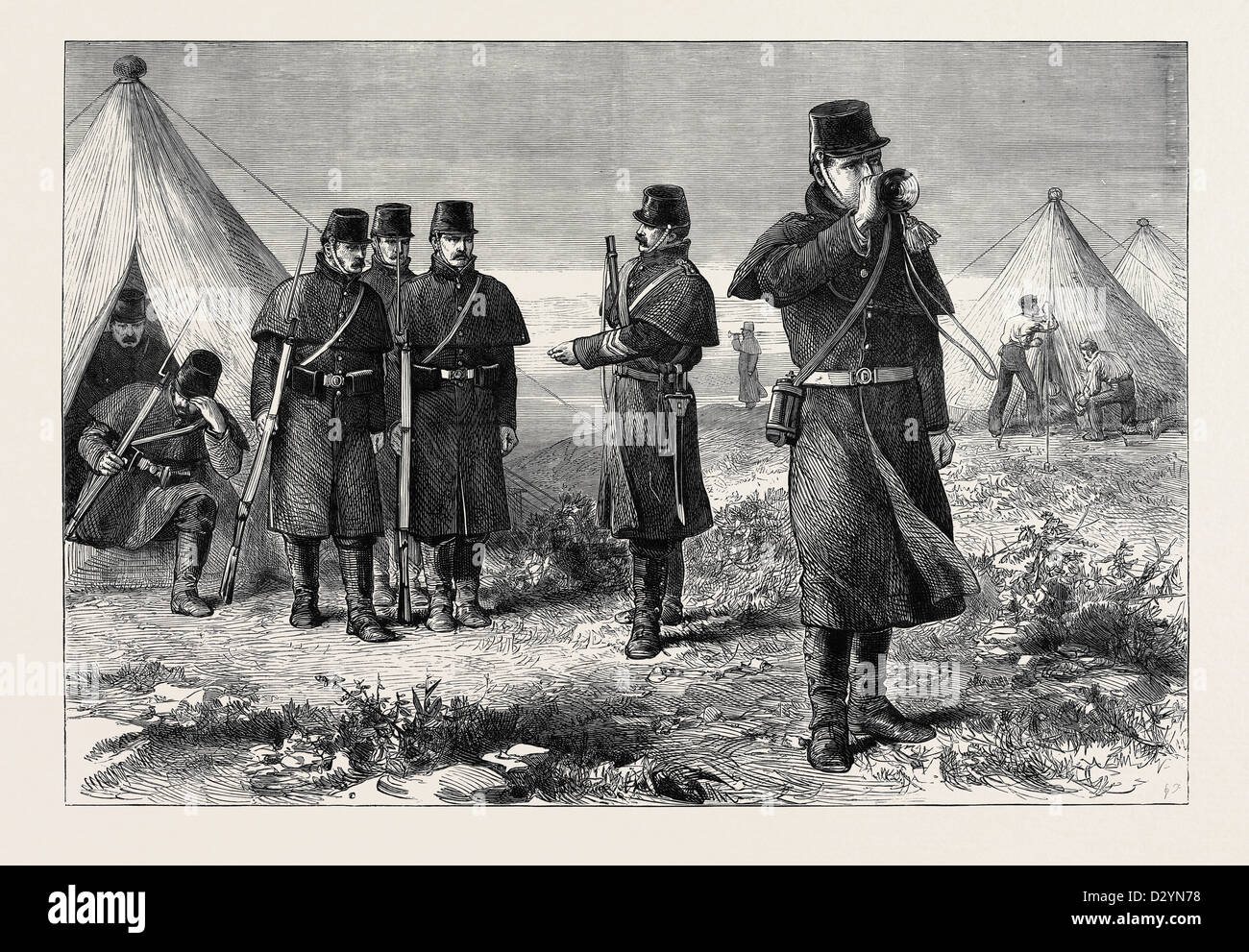 Lo scandaglio di REVEILLÉ 1880 Immagini Stock