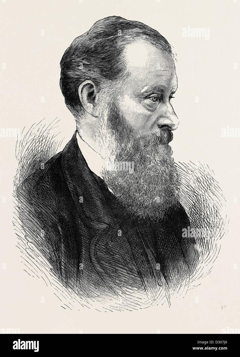 L'onorevole W.E. FORSTER, p.f., 1870 Immagini Stock