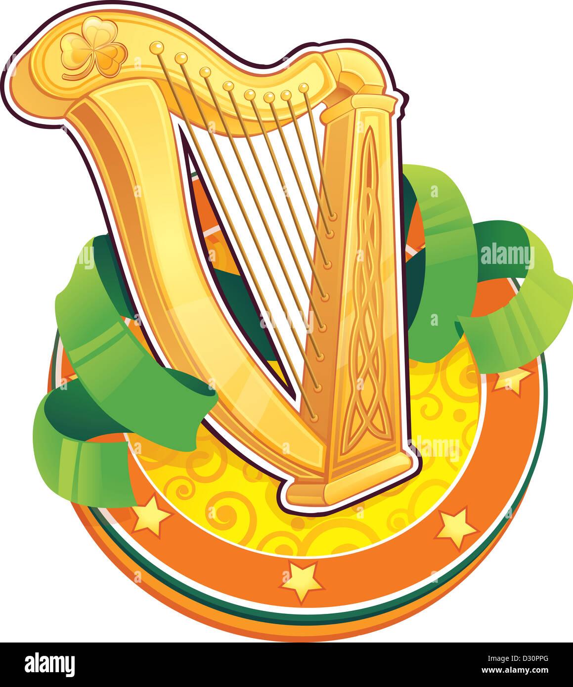 L Arpa Irlandese Foto Stock Alamy