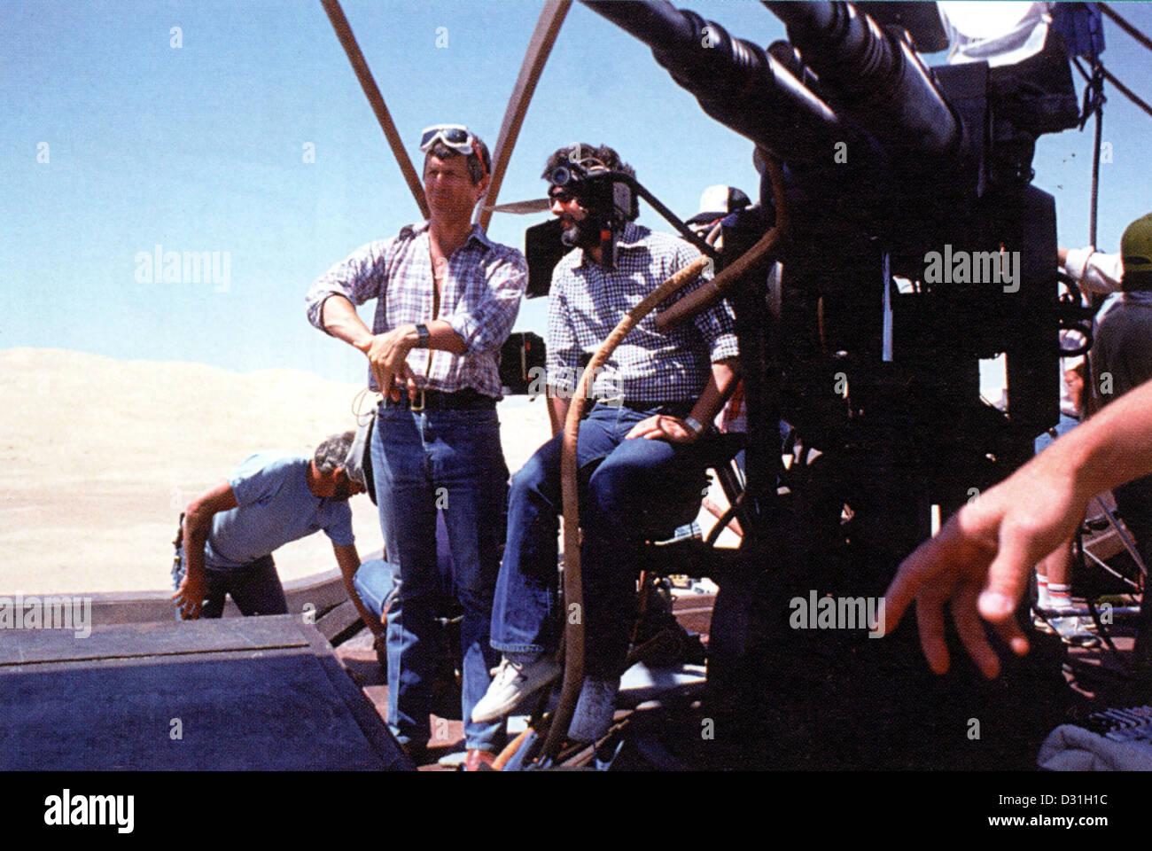Richard Marquand, George Lucas Immagini Stock