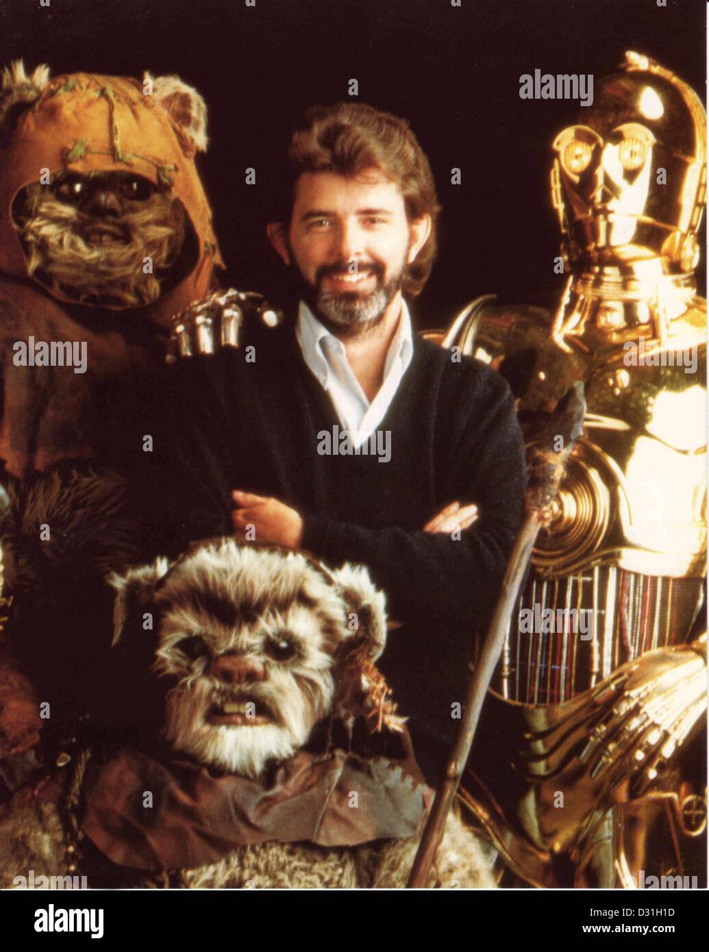 George Lucas Immagini Stock