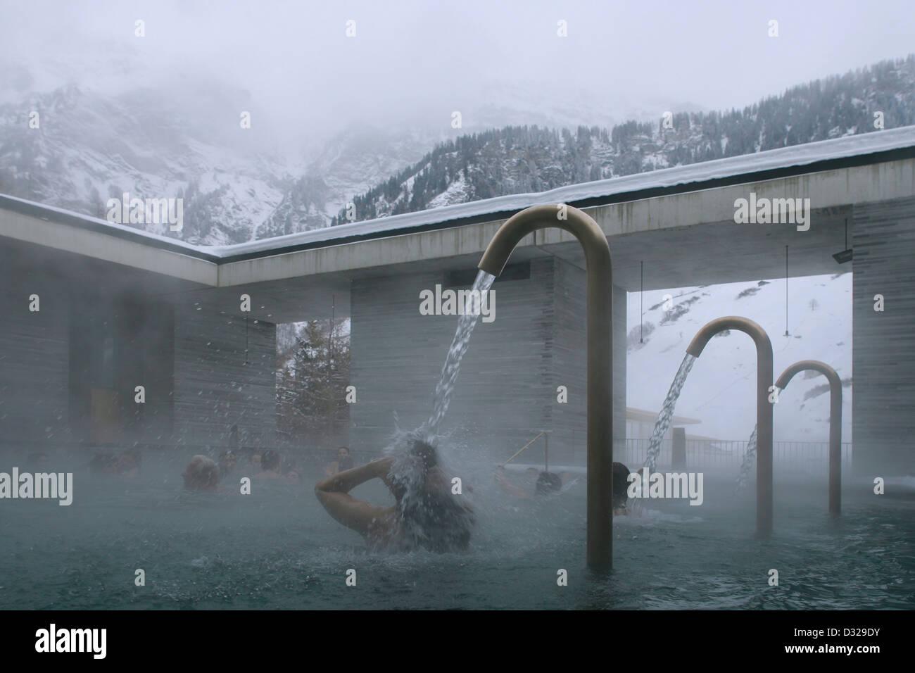 Bagni Termali Vals : Vals terme vals svizzera. architetto: peter zumthor 1996. il