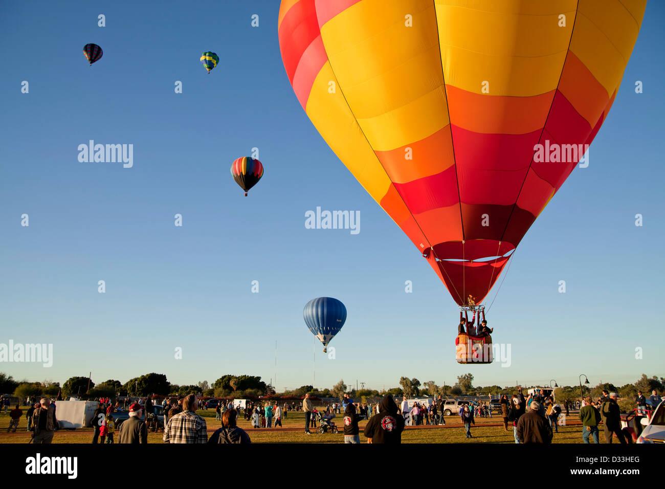 Palloni Ad Aria Calda.Volare I Palloni Ad Aria Calda A T Egli Yuma Balloon Festival A Yuma