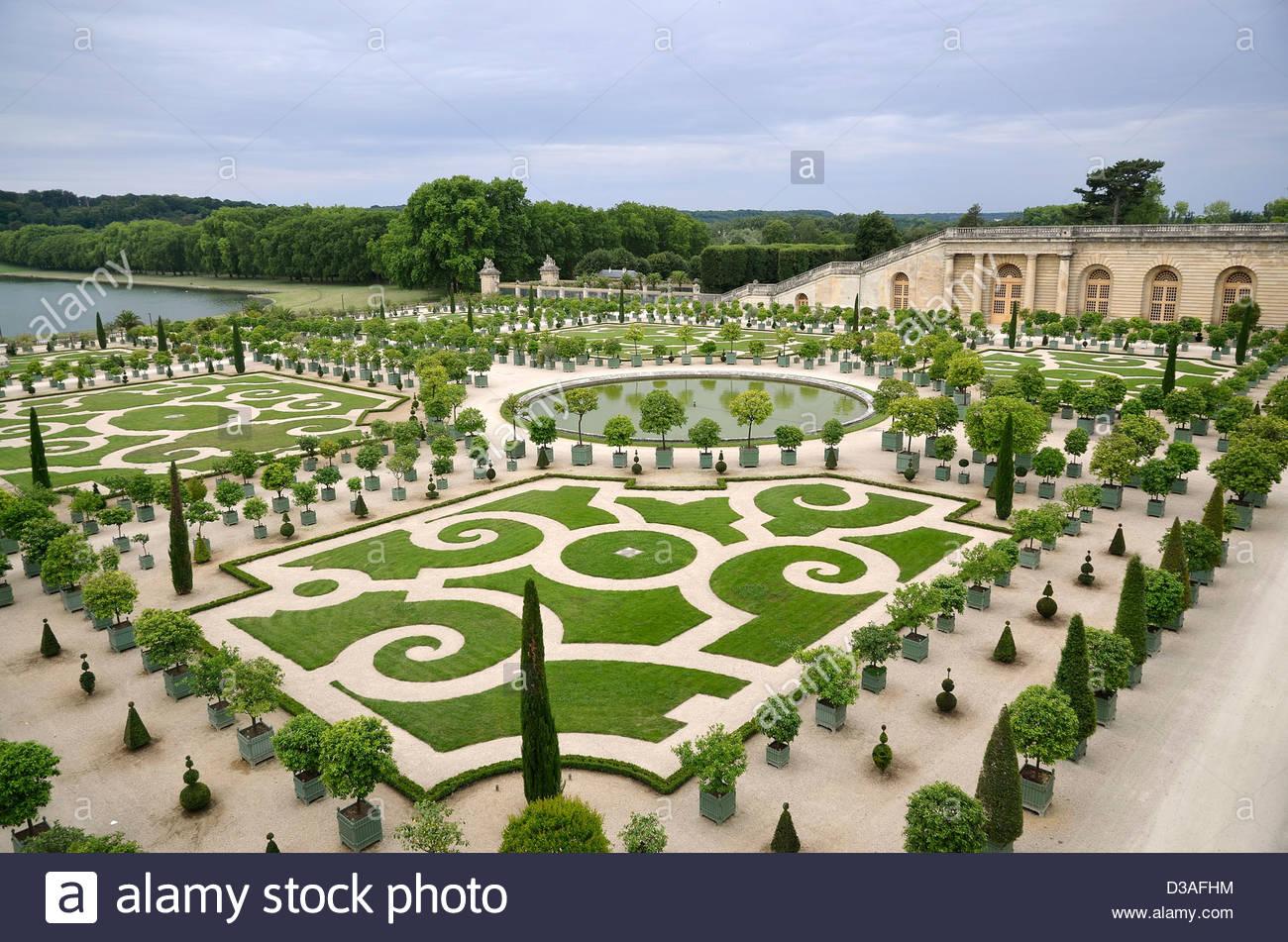 Giardini di l orangerie e il castello di versailles isola di