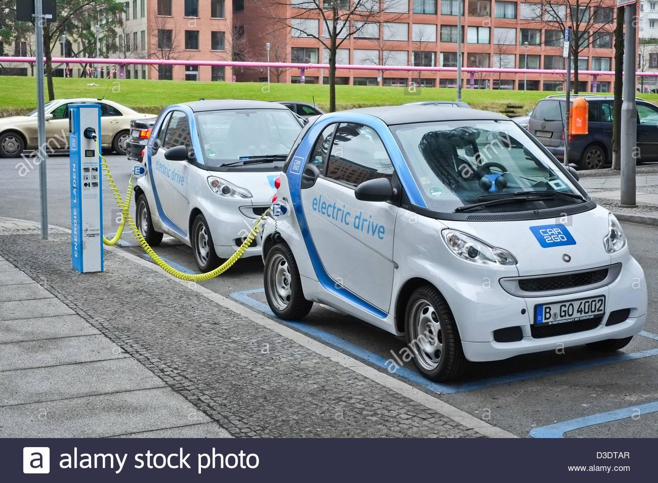 Auto elettrica Immagini Stock