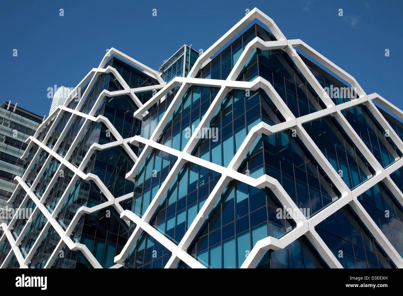 Il rispettosi dell'ambiente Macquarie Bank Building 1 Shelley Street Sydney Australia Foto Stock