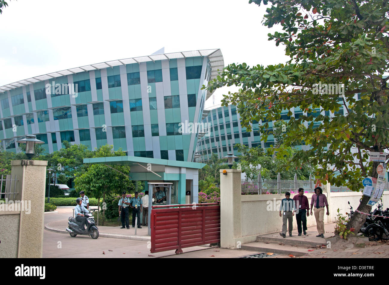 Technopark Trivandrum Infosys limitata Technopark Campus definisce progetta lo eroga-enabled business solutions Immagini Stock