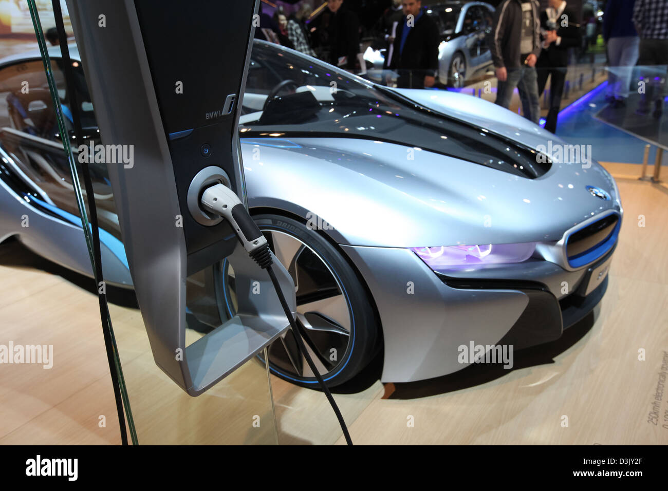 BMW Concept Vision dinamica efficiente Immagini Stock