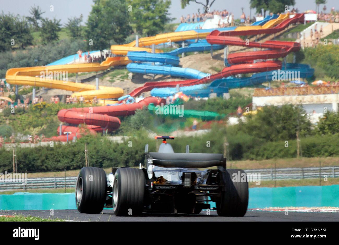 Circuito Ungheria : Dpa finlandese pilota di formula uno kimi raikkonen della mclaren