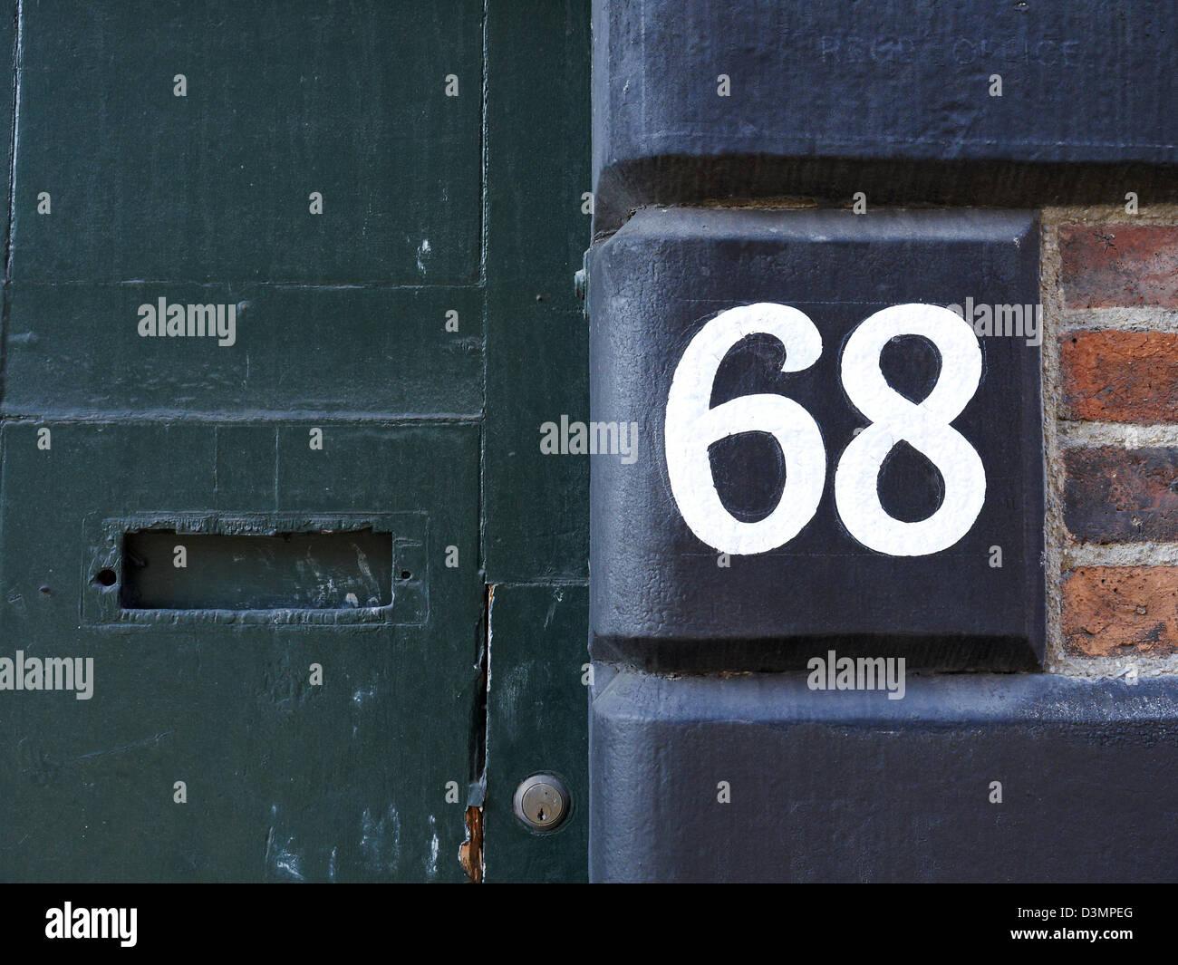 Numero civico foto immagine stock  alamy