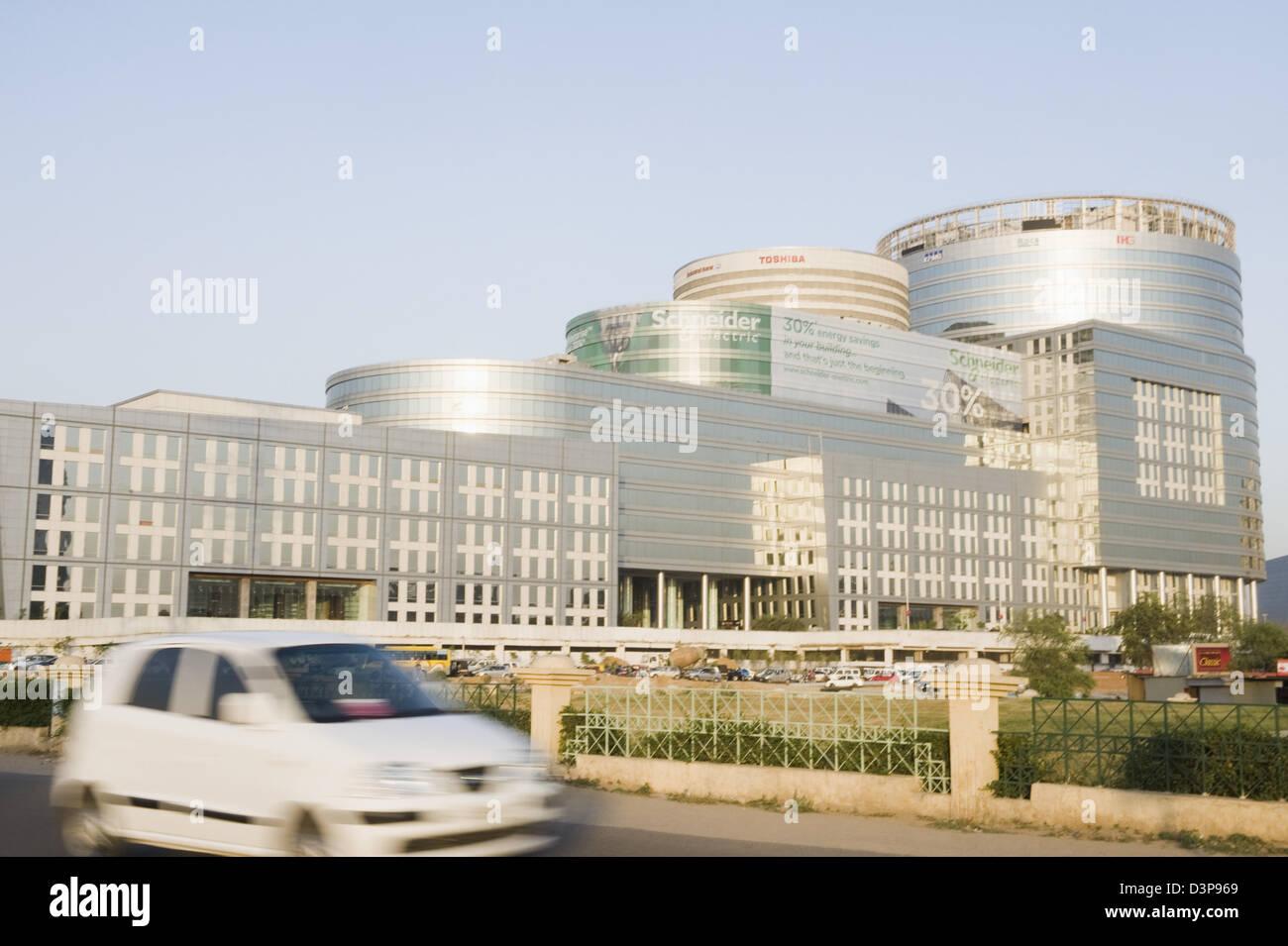 Edificio per uffici, DLF Edificio 10, DLF City, Gurgaon, India Haryana Immagini Stock