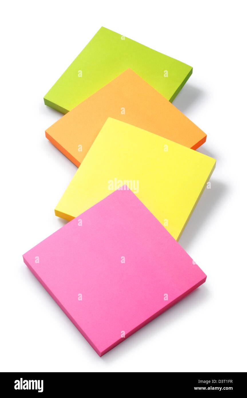Sticky Notes - Giovanni Gollop Immagini Stock