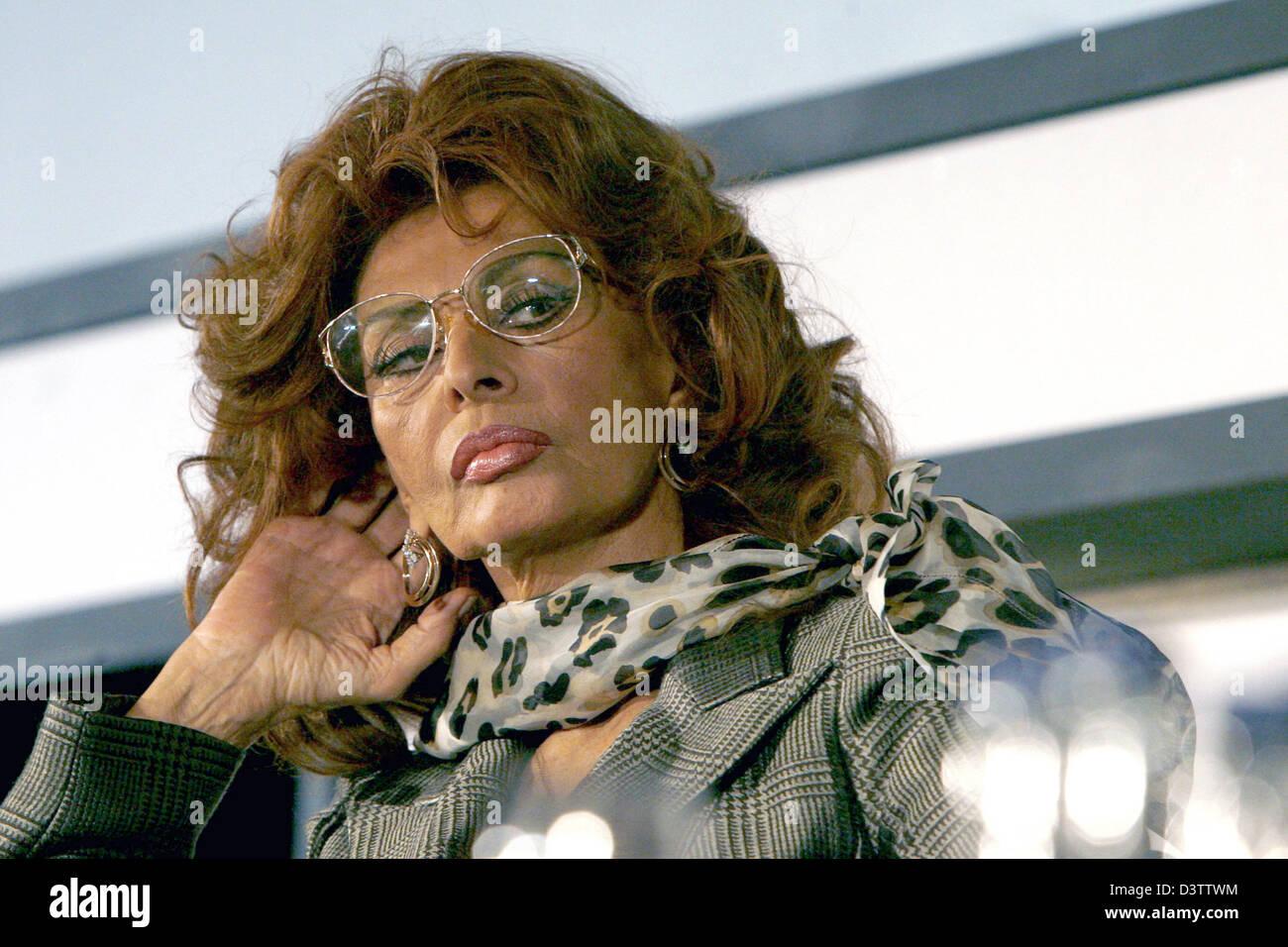 Nuovo Calendario Pirelli.Italian Attrice Sophia Loren Fotografato Durante La