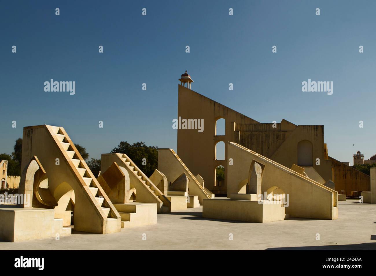 Jantar Mantar Observatory Immagini Stock