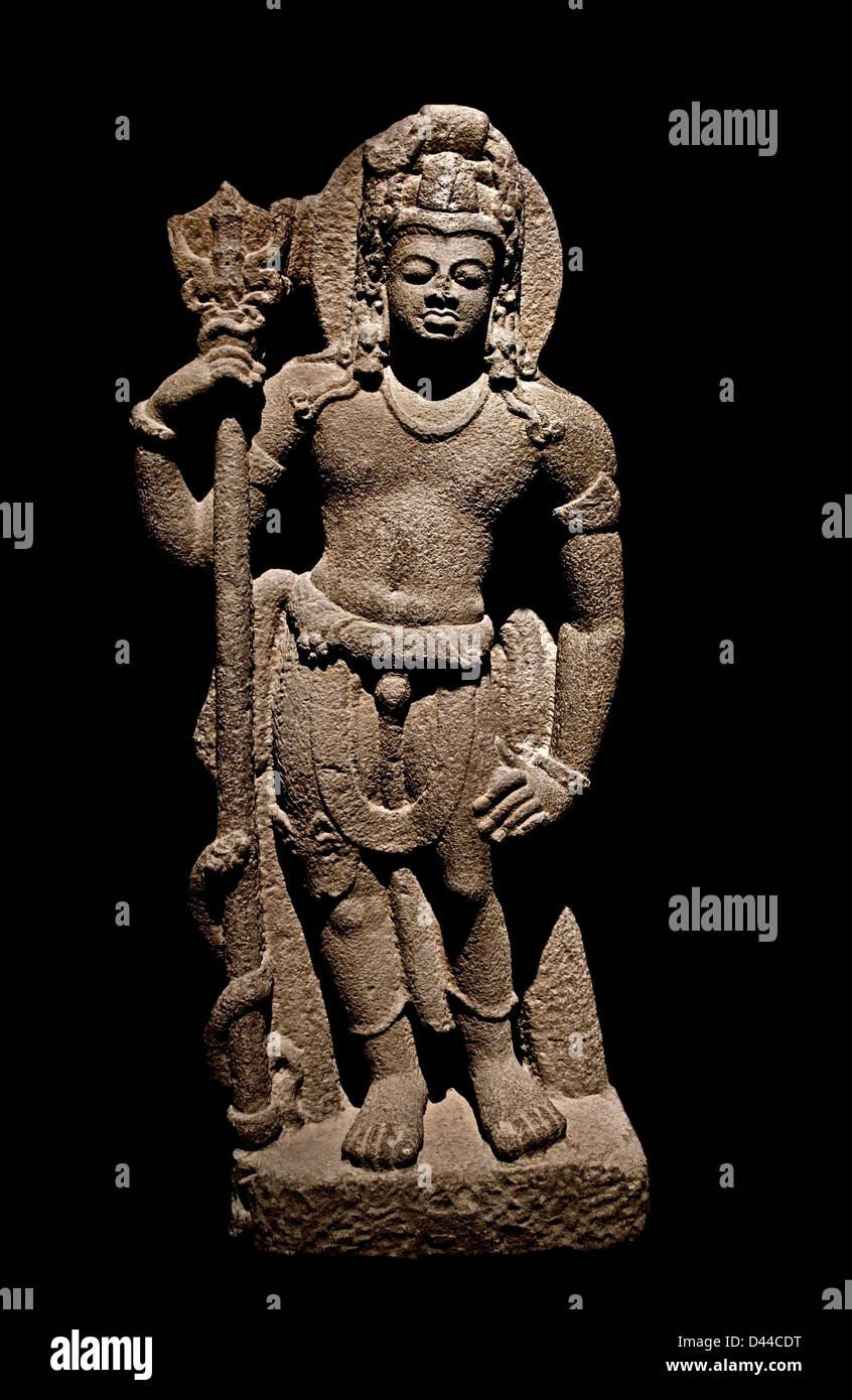 Shiva vi secolo Parel Mumbai Maharashtra indù in India Immagini Stock