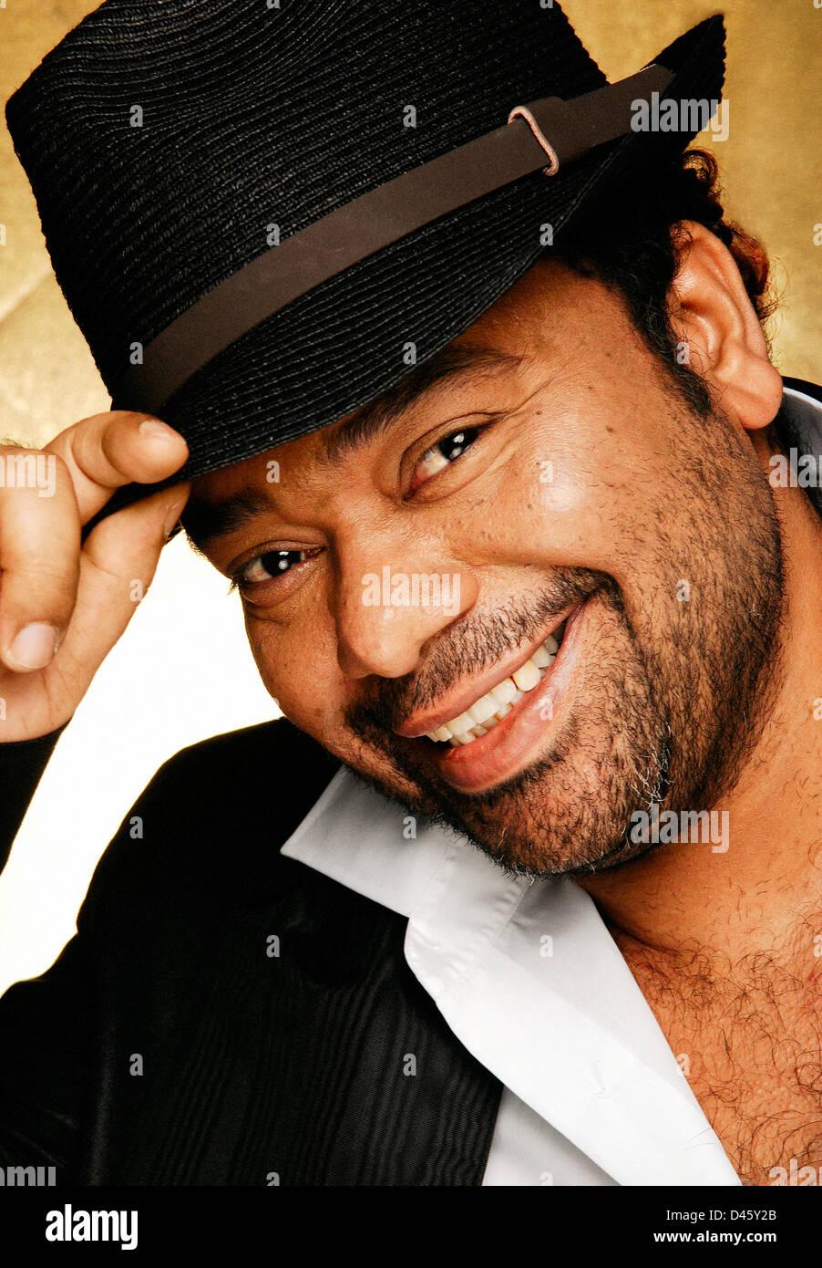 Paulo flores angolano cantante celebrità Immagini Stock
