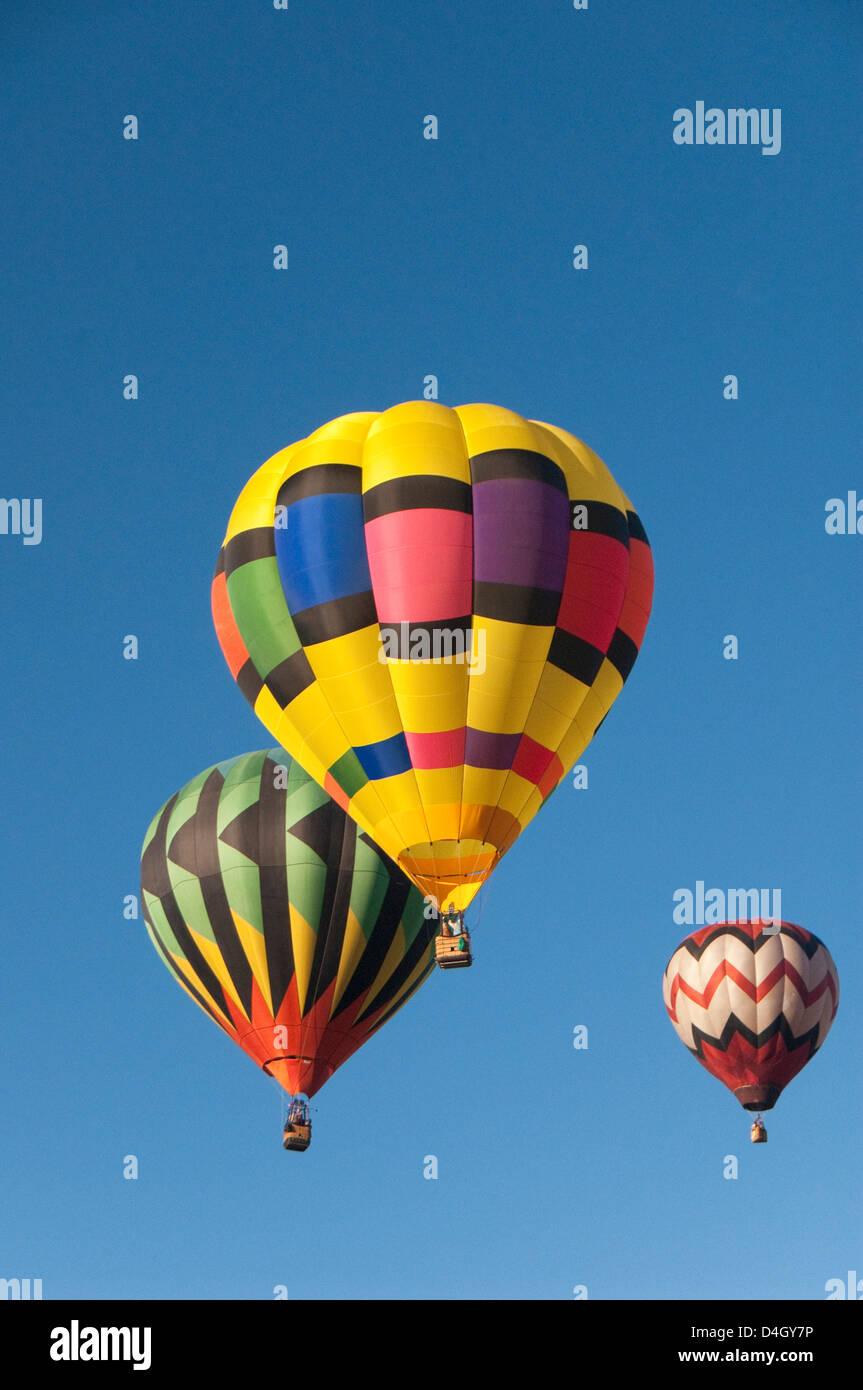 Il 2012 Balloon Fiesta di Albuquerque, Nuovo Messico, STATI UNITI D'AMERICA Immagini Stock