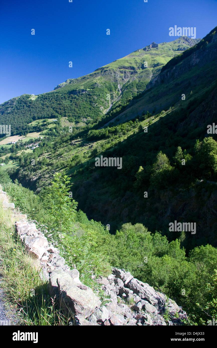 Gave de Héas, Pirenei, Francia Immagini Stock