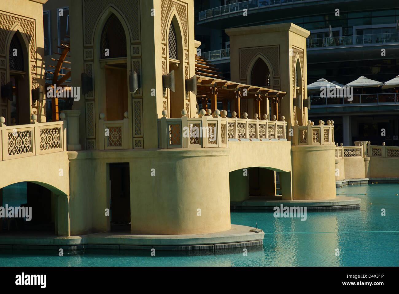 Il centro commerciale di Dubai, Dubai, Emirati Arabi Uniti Immagini Stock