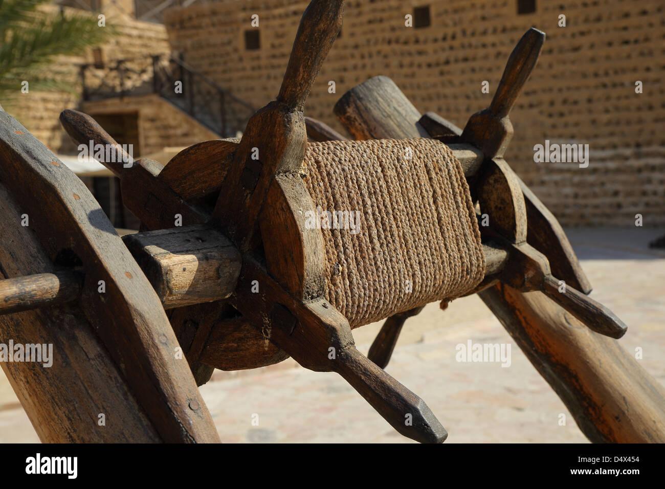 Museo di Dubai, Dubai, Emirati Arabi Uniti Foto Stock