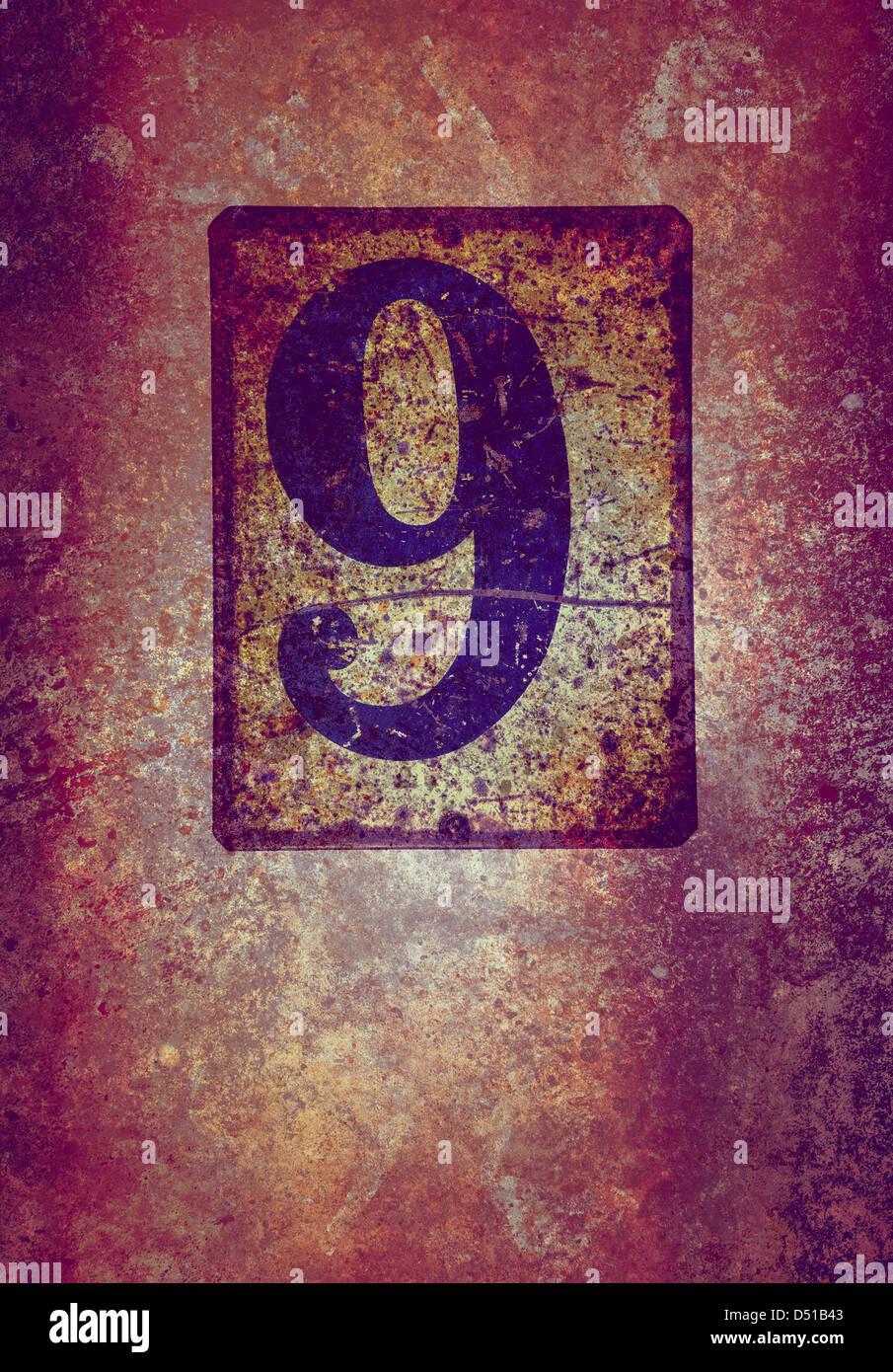 grunge 9 Immagini Stock