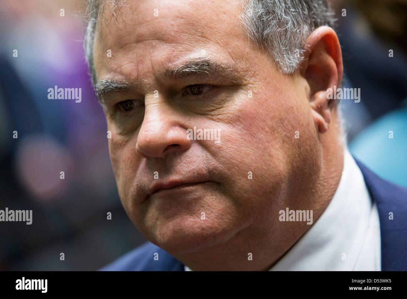 Joe Carrabba, Presidente e CEO di scogliere risorse naturali, Inc. Immagini Stock