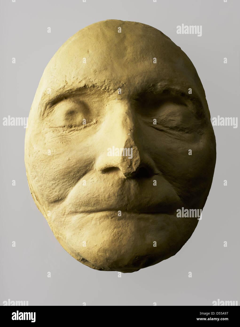Saint Paul Cathedral, Wren's maschera di morte Immagini Stock