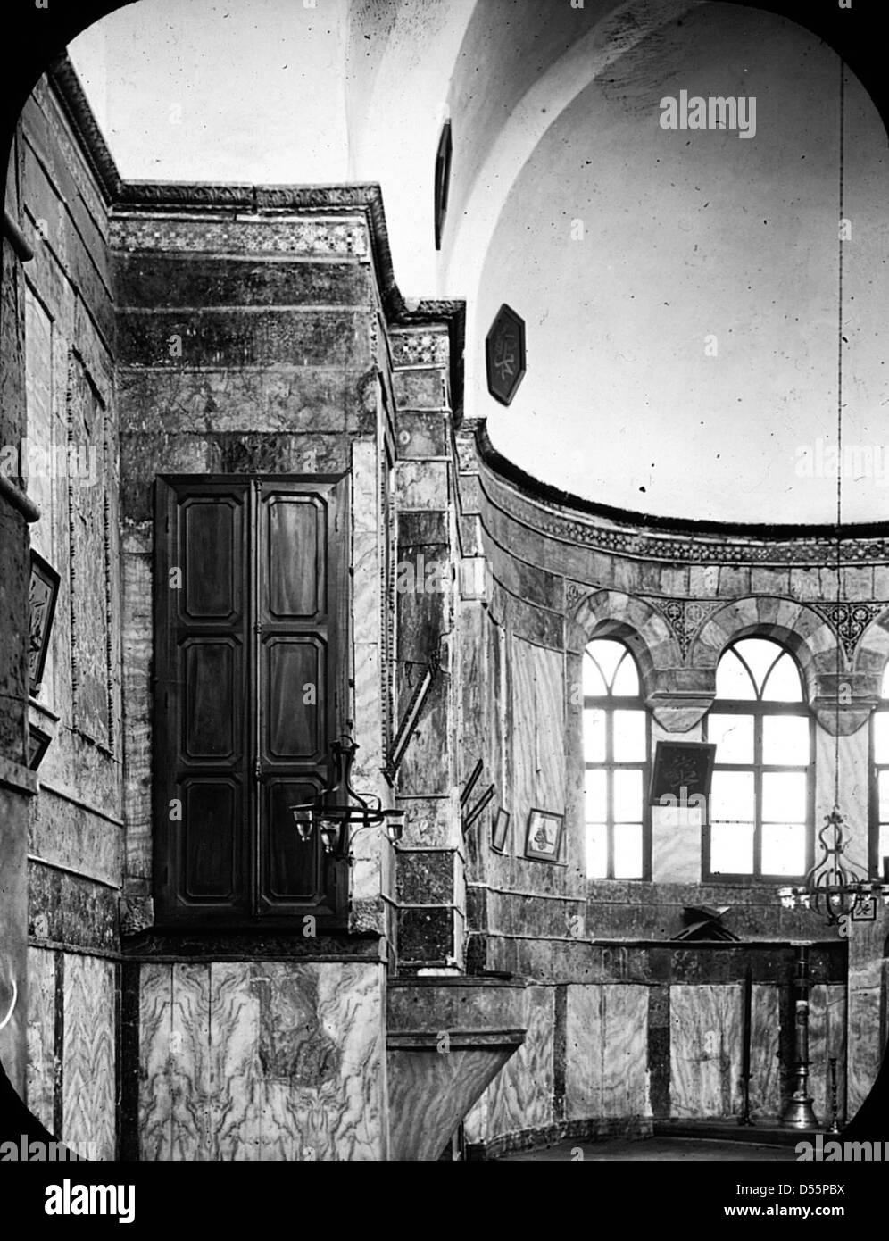 Chiesa di Chora, Istanbul, Turchia, 1914. Immagini Stock